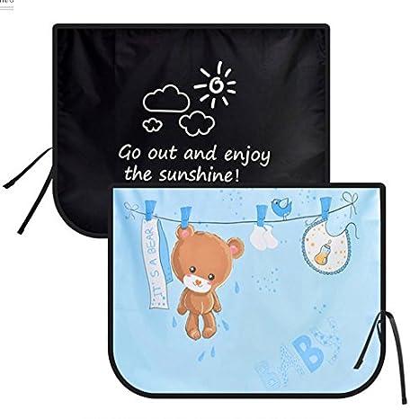 magnétique de voiture Sun Shade Rideau pour fenêtre latérale pour bébé  enfants Enfants – Pare- 99144d9d6b7a