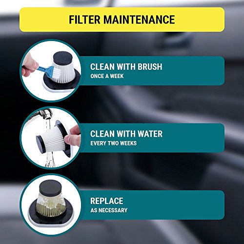 Car-Vacuum-Car-Vacuum-Cleaner-which-makes-your-auto-interior-dirt-free-with-high-power-106W-motor-HEPA-filter-16-foot-long-cord-Portable-Hand-held-Black-12-volt-DC-Car-Vaccume-Cleaner-for-car