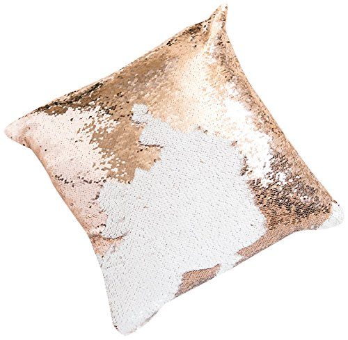 16×16 Mermaid Flip Sequin Pillow