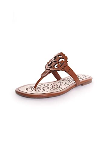 79f8df61efb9 Tory Burch Miller Scallop Sandal in Tan New Cream Size 9