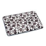 TOOPOOT(TM) Memory Foam Mat Bath Rug Shower Non-slip Floor Carpet (Gray)