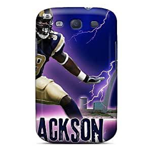 Premium Protection St. Louis Rams Case Cover For Galaxy S3- Retail Packaging
