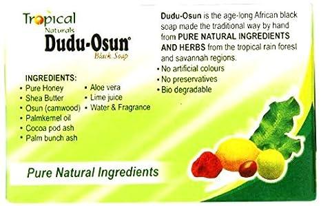 amazon com 3 pack tropical naturals dudu osun black soap pure natural ingredients 5 oz us ship beauty