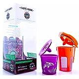 Caffè Verde - Quality Refillable / Reusable K Cup ® & K Carafe Filter for Keurig 2.0 ® Starter Kit - Compatible with Keurig 2.0 ®: K200, K300, K400, K500 Series & Keurig 1.0