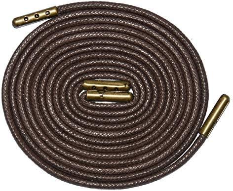 革靴用 靴ひも/ビジネス 靴紐/蝋引き 丸紐 革靴に最適 編紐 蝋丸 ロウ引き丸(約2.5mm)メンズ