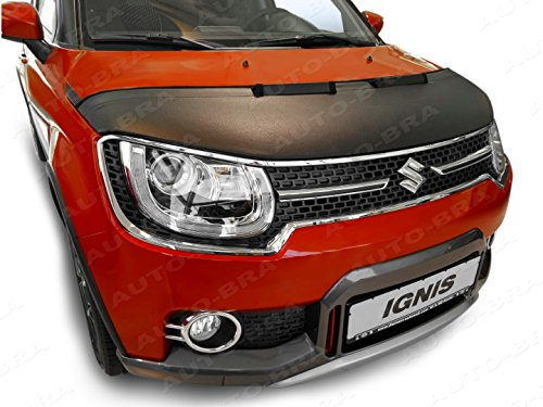 AB3-00251 Hood Bra for Suzuki Ignis Since 2016 Bonnet Bra Front End Nose Mask STONEGUARD Protector Tuning