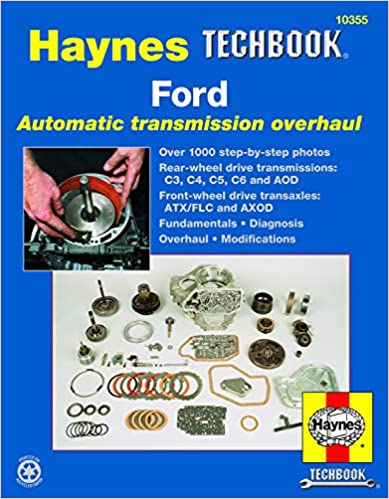 Ford Automatic Transmission Overhaul Haynes TECHBOOK Haynes
