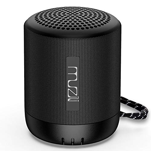 Muzili Bluetooth Speaker Bluetooth 5.0 Portable True Wireless Speaker with Hi-Fi Stereo Sound Stable Connection Supports TF Card/USB Flash Drive for iOS Android Devices