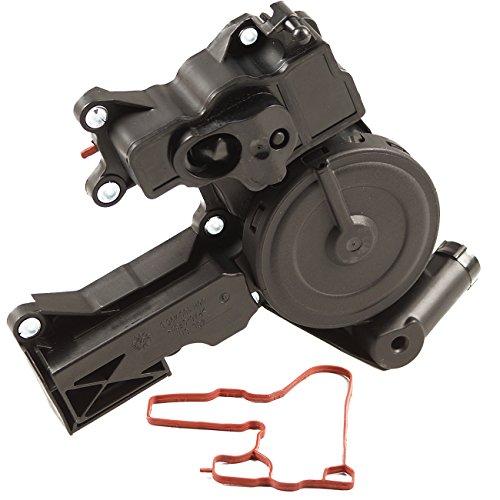 - Bapmic 06H103495E PCV Positive Crankcase Ventilation Valve Oil Separator for Volkswagen CC Tiguan Jetta Passat Audi A4