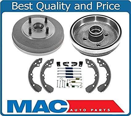 Amazon.com: 100% Braking New Brake Drums Shoes Springs WITH OUT ABS for Kia Rio 03-05: Automotive