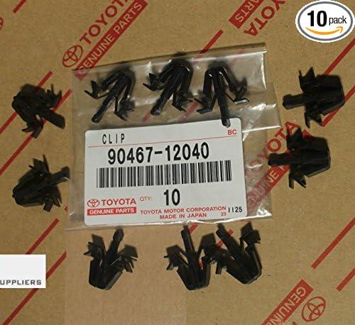 Toyota 90467-12040 Tacoma 4Runner Grille Clips OEM Set of 10 RAV4