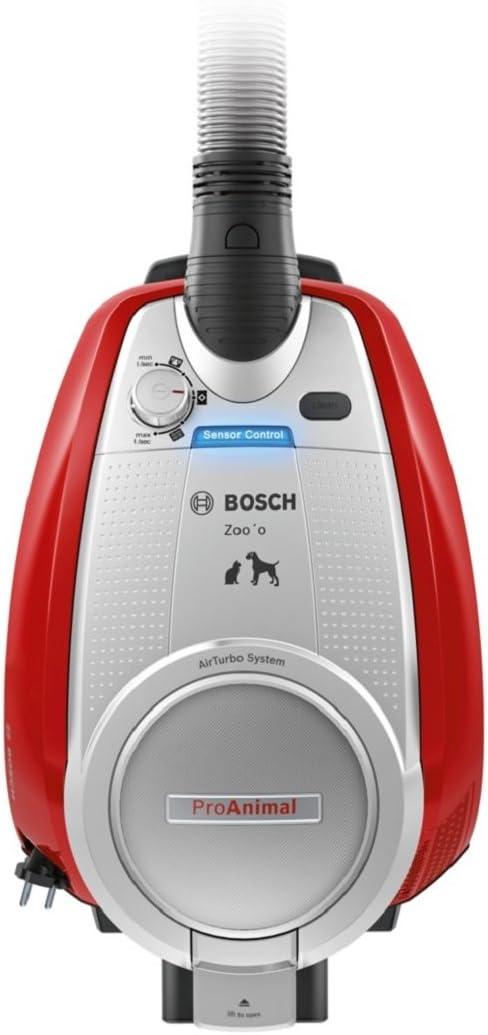 Bosch ProAnimal Aspiradora sin Bolsa 3 L, 950 W, 74 dB, 575 W, 3 ...