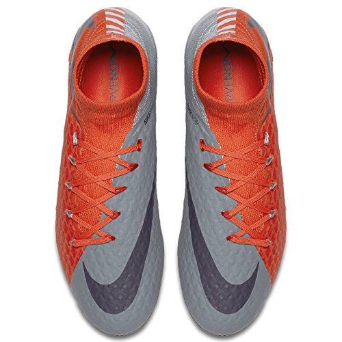 Nike Womens Hypervenom Phatal III Dynamic Fit FG Cleats [Cool Grey] (7.5) by NIKE (Image #2)