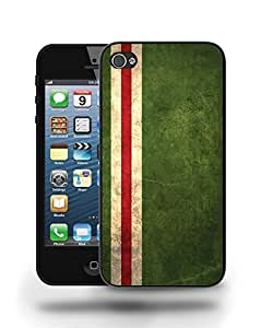 Chechen Republic Vintage Flag Phone Case Cover Designs for iPhone 4
