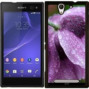 Funda para Sony Xperia C3 - Flor Morada by WonderfulDreamPicture