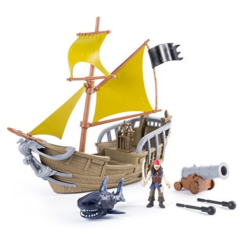 Pirates of the Caribbean: Dead Men Tell No Tales - Jack's Pirate Ship Playset (Toy Ship)