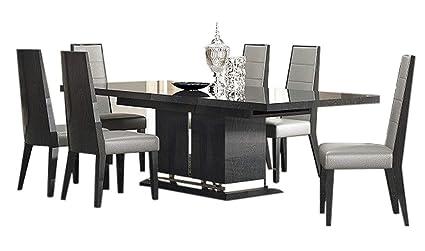 Amazon.com - Valentina Modern Dining Room Set in Grey ...