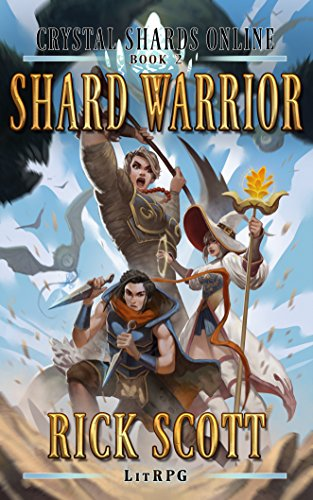 Shard Warrior: A LitRPG Novel (Crystal Shards Online Book 2) cover