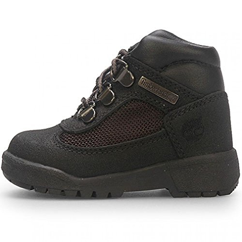 Timberland Kids Black Scuff Proof Field Boot Scuff ProofToddler 4.0 B(M) US Toddler (Timberland Scuff Proof For Kids)