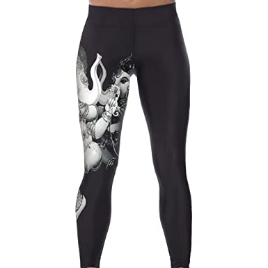 Womens Funky Elephant Stretchy Running Work Out Fitness Leggings Yoga Pants   Amazon.co.uk  Clothing 9c581238676f