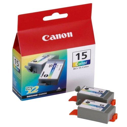 (CNM8191A003 - BCI-15CLR Clr Ink Twin PK)