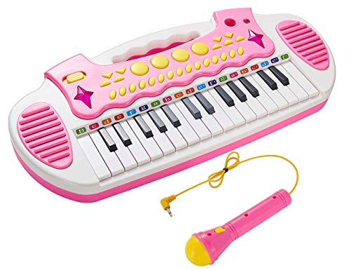 Conomus Piano Toy Keyboard for Kids, 3 4 5 Year Old Girls Birthday Gift , 31 Keys Multifunctional Musical Instruments…