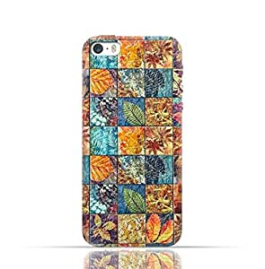 Apple iPhone 7 TPU Silicone Case with Old Handcraft Tile Pattern