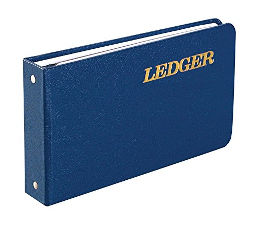 (Wilson Jones Ring Ledger Outfit, Bookkeeping System with Ring Binder, Ledger Sheets, and A-Z Indexes (W0203-58BLA))