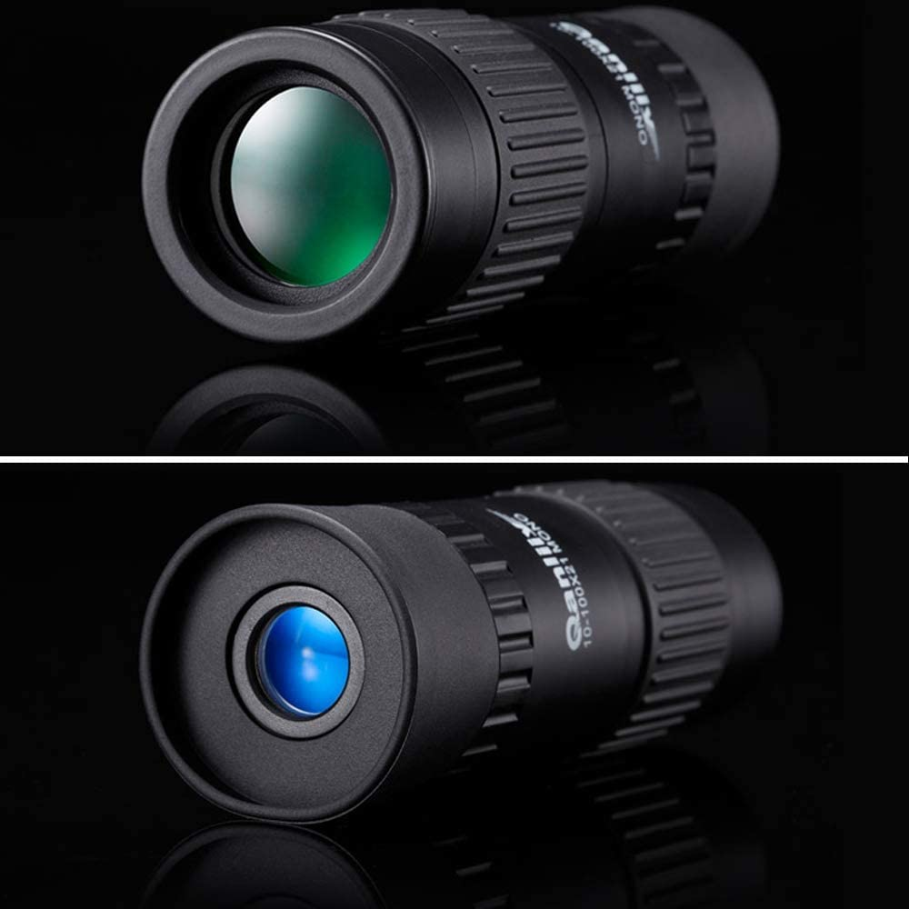 Gulakey Black Monocular Telescopes High List Tube Night Vision 10X32 with High Magnification for Adult Portable Night Vision Telescope Outdoor