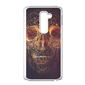 Fashion Cool Skull Phone Case for LG G2