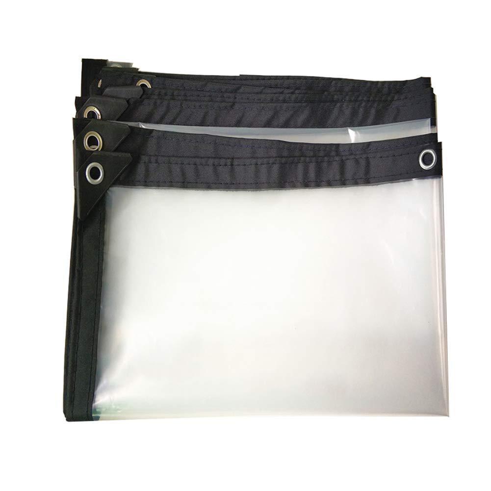 MSNDIAN BÂche imperméable épaisse Transparente imperméable à l'eau de Tissu en Plastique Toile de Pluie Toile de Pluie Toile d'isolation de bÂche de Prougeection Articles de Sport de Plein air