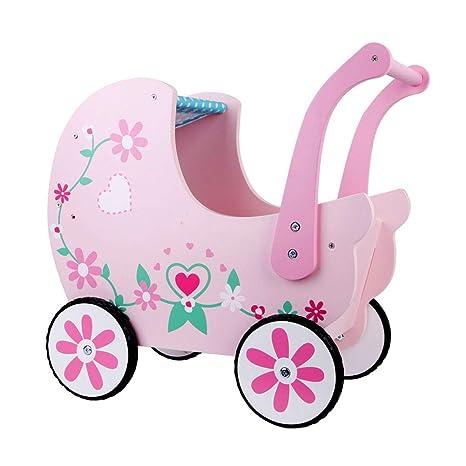 ZHMXHM Andador de Madera, Uso como Carruaje, Caminante Bebé ...