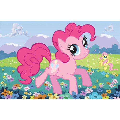 My Little Pony 'Friendship is Magic' Party Game Poster (1ct) (Pin The Tail On The Pony)