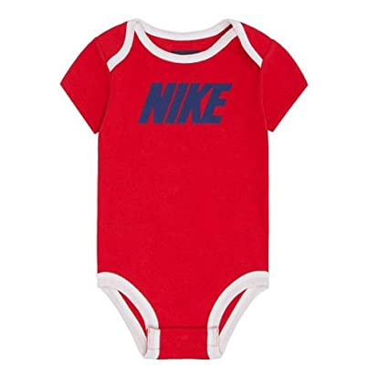 72498c7d6 Amazon.com: Nike Baby Boy Bodysuit, 9/12 Months, University Red: Sports &  Outdoors