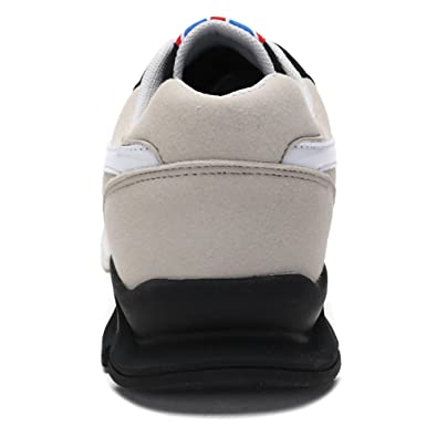 Amazon.com | JACKYS Mens Spring Autumn Breathable Casual Zapatillas Hombre Flats Footwear Black, White | Fashion Sneakers