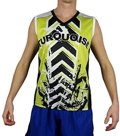 Turquoise Camiseta de Triantes sin Mangas Beach Tennis Hombre ...