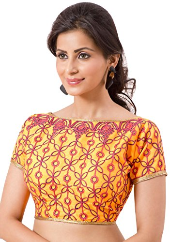 Designer Blouse Traditional Party Wear Women Crop Top Bollywood Choli Ready Made (Ready Made Designer Saree Blouses compare prices)