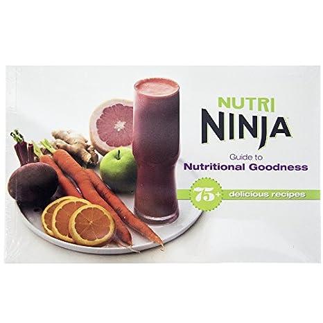 Amazon.com: Ninja 75 + Receta Nutri Ninja Guía para ...