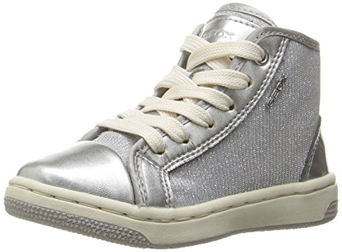 Geox J72L5A 0EWHI Sneakers Bambino Argento 26
