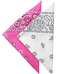 Men's 100% Cotton Multi-purpose Bandana Gift Sets – Headband, Wrap, Protective Coverage