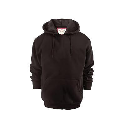 Lee Hanton Men's Sports Pullover Lightweight Fleece Hoodie Sweatshirts