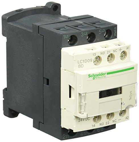 (3 Pole, 24 Coil VDC, 25 Amp at 440 VAC and 9 Amp at 440 VAC, Nonreversible IEC Contactor)