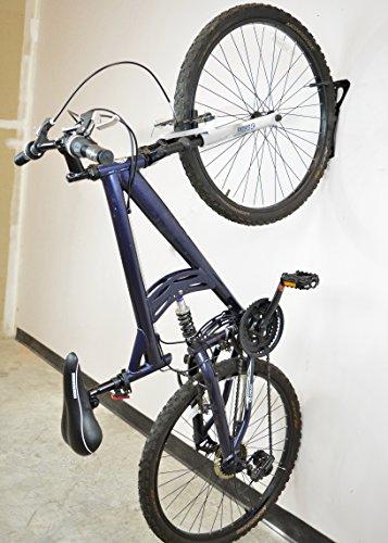 Lumintrail Heavy Duty Bicycle Wall Hanger Vertical Bike Storage Rack