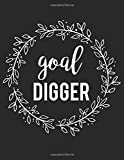 Goal Digger: Journal, Diary & Notebook For the Everyday Girl Boss With 110 College Ruled Pages (Boss Lady Gifts)