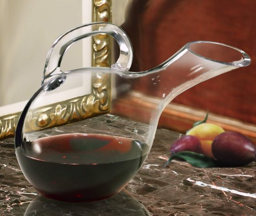 Crystal Clear Napa Collection Mouthblown Glass Duck ()