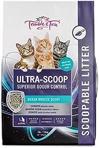 Trouble and Trix UltraScoop Cat Litter 10 Litre