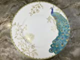 222 Fifth Peacock Garden Dinner Plates, Set of 4