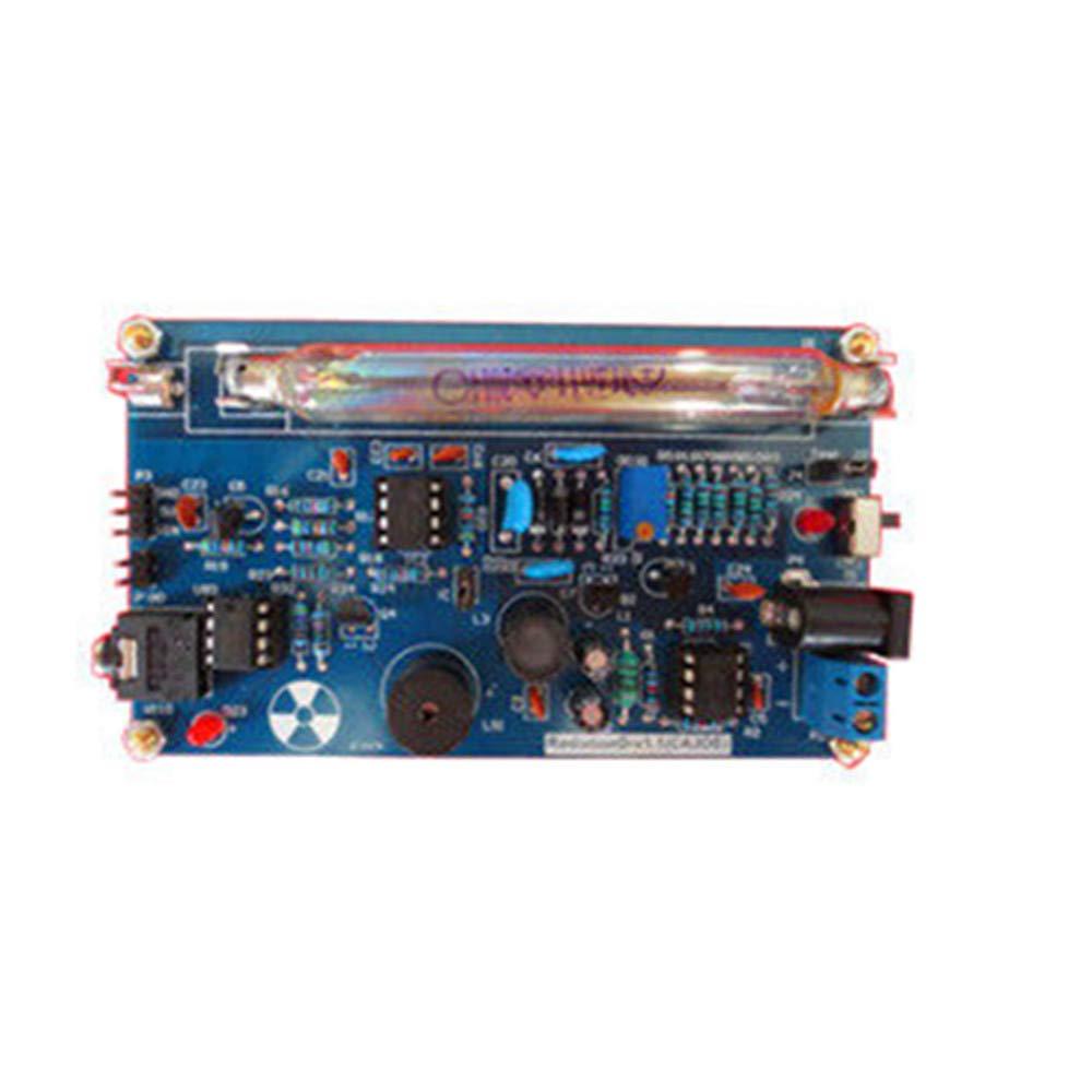 ele ELEOPTION Open Source Geiger Counter Kit Assembled DIY Nuclear Radiation GM Detector Beta Gamma Ray Tube γβ-ray Radiation