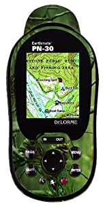 DeLorme Earthmate PN-30 Realtree Handheld GPS with 1:100k Topographic, Detailed Street Maps, and POIs