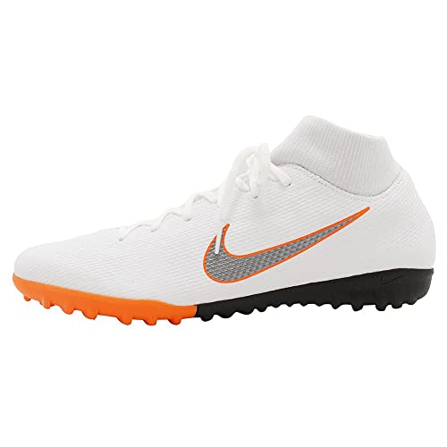 d3ad7a78842e Nike Unisex Adults  Mercurial Superfly X 6 Academy Tf Ah7370 Football Boots  White